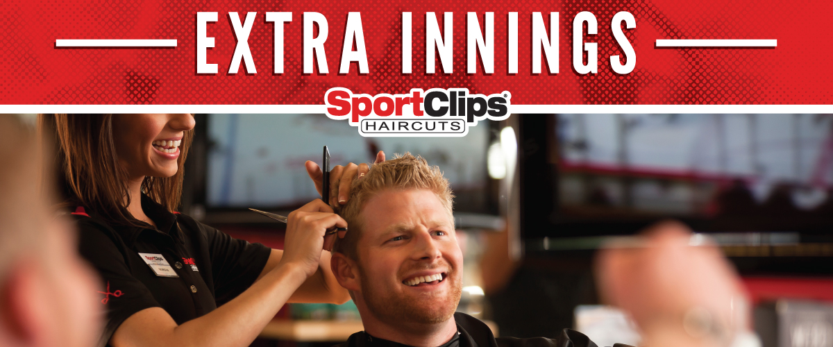 The Sport Clips Haircuts of Lindon  Extra Innings Offerings
